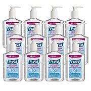 Purell Advanced Refreshing 8 oz. Gel Hand Sanitizer, Clean Scent,  12/Carton (9652-12CT)