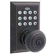 Honeywell 8832401S Smart Door Locks Digital Door Knob Bluetooth Door Lock, Oil Rubbed Bronze