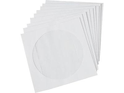 Staples Open End CD/DVD Envelopes, 5