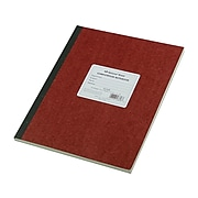 """National Brand Computation Notebook, 9"""" x 11"""", Quad Ruled, 75 Sheets, Brown (43648)"""