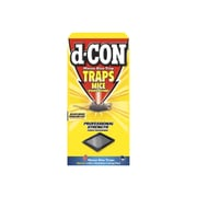 D-CON Glue Traps for Rodents, 4/Pack, 12 Packs/Ct