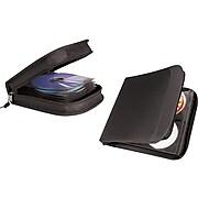 Staples Wallet for CD/DVD, Black Nylon (33311)