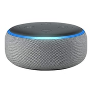 Amazon Echo Plus (3rd Generation) Smart Speaker, Heather Gray (B0792K2BK6)
