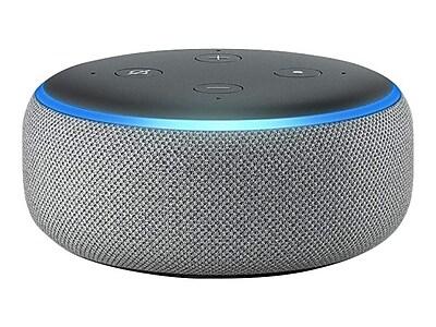 Amazon Echo Plus (3rd Generation) Smart Speaker, Heather Gray (B0792K2BK6)