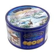 Royal Dansk Danish Butter Cookies Tin, 5 lb