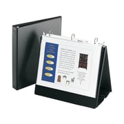 """Avery Easel Binder with 1"""" Round Ring, Black (12880)"""