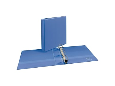 "Avery Heavy-Duty 1-1/2"" 3-Ring View Binder, Periwinkle (17553)"