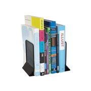 "Staples 4.8"" Wire Mesh Book Ends, Black, Pair (25289)"
