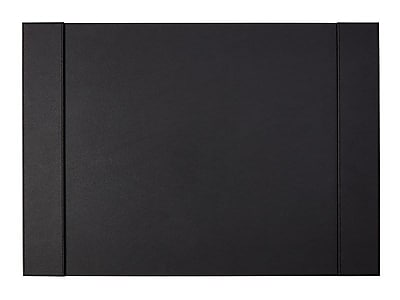 staples desk pad faux leather black staples rh staples com staples desk chair pad staples desk pad canada