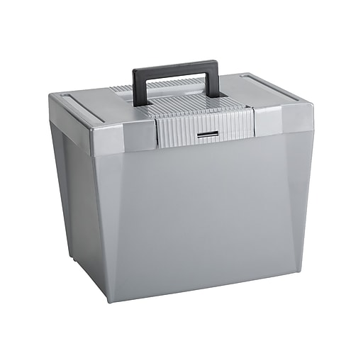 Pendaflex Economy Plastic Box, Gray (PFX 20862)
