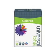 """Universal Multipurpose Paper, 20 Lbs., 8.5"""" x 11"""", Canary, 500/Ream (UNV11201)"""