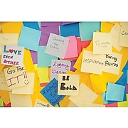 """Post-it® Greener Notes, 3"""" x 3"""", Canary Yellow, 75 Sheets/Pad, 24 Pads/Pack (654R-24CP-CY)"""