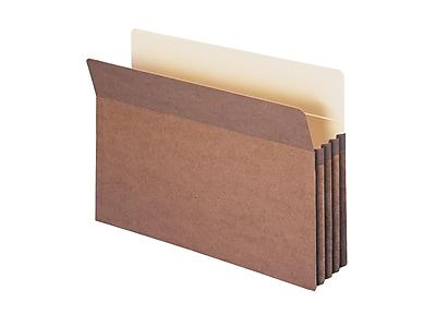 Smead File Pockets, Straight Cut Tab, 3.5