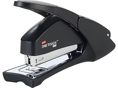 Staples One-Touch Aero Desktop Stapler, Full-Strip Capacity, Black (23077)