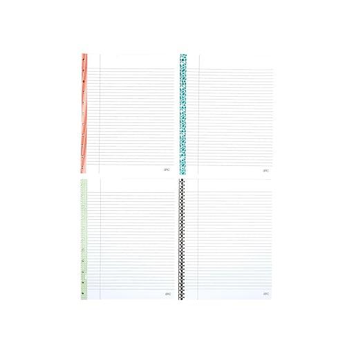 Staples Arc System College Ruled Reinforced Filler Paper, 8 5
