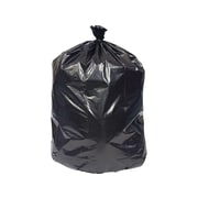 Brighton Professional 55-60 Gallon Trash Bags, 38x58, Reprocessed Resin, 1.3 Mil, Black, 100 CT (X7658PKE)