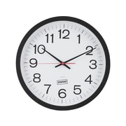 "Staples Wall Clock, Plastic, 14"" Dia. (18380)"
