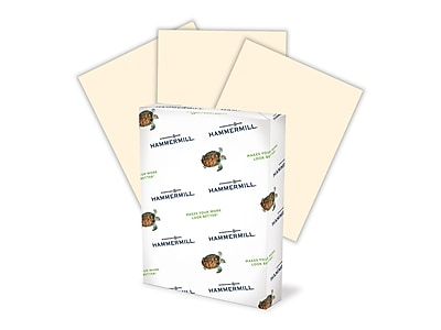 """hammermill® fore® mp color paper, 8 1/2"""" x 14"""", ivory, ream 