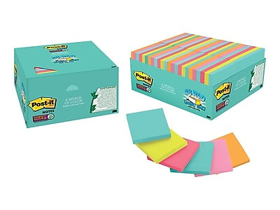 Post-it Super Sticky Notes, 3