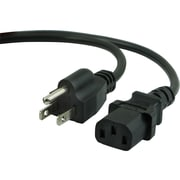 Staples 6' AC Replacement Power Cord, Black