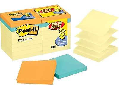 Post-it Value Pack Standard Notes, 3