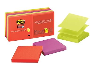 Post-it Super Sticky Notes, 3