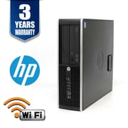 HP ProDesk Desktop Computer, Intel i7-3770 3.4Ghz, 16GB, 240GB SSD, WIFI, Win 10 Pro, Refurbished