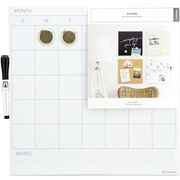 "U Brands Magnetic Monthly Dry Erase Board, 14"" x 14"" (077U0004)"