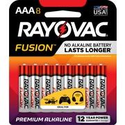 Rayovac AAA Fusion Premium Alkaline Batteries, 8/Pack (824-8TFU)
