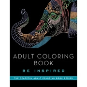 Skyhorse Publishing Adult Coloring Book, Be Inspired (SKY-71118)