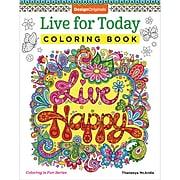 Design Originals Live For Today Coloring Book, Live Happy (DO-02054)