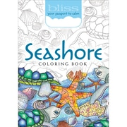 Dover Bliss Coloring Book, Seashore (DOV-10712)