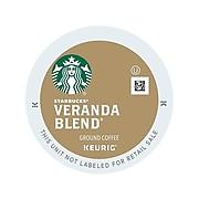 Starbucks Veranda Blend Coffee, Keurig® K-Cup® Pods, Light Roast, 96/Carton (9577)