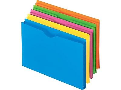 Pendaflex Glow Poly File Jackets, 1