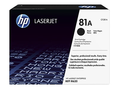 10,500 Pages TCT Premium Compatible Toner Cartridge Replacement for HP 81A CF281A Black Works with HP Laserjet Enterprise MFP M630H M630DN M630F M630Z Printers 8 Pack