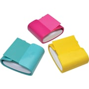 """Post-it World of Color Fun Fashion Pop-Up Dispenser for 3"""" x 3"""" Notes, Assorted Colors (WD-330-COL)"""