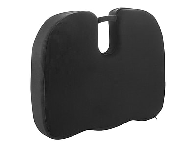 Wagan RelaxFusion Coccyx Polyester Seat Cushion, Black (9113)