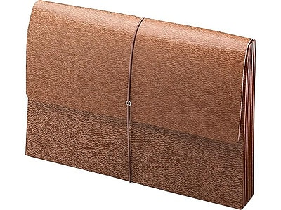 Smead Classic Redrope Expanding Wallet, 3.5