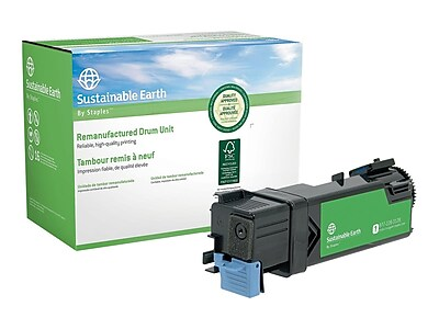 Sustainable Earth by Staples Xerox 6500 Remanufactured Cyan Toner Cartridge, High Yield