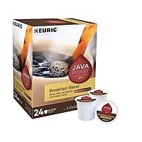 Deals on Keurig K-Cup Java Roast Breakfast Blend Coffee Pods 24/Box