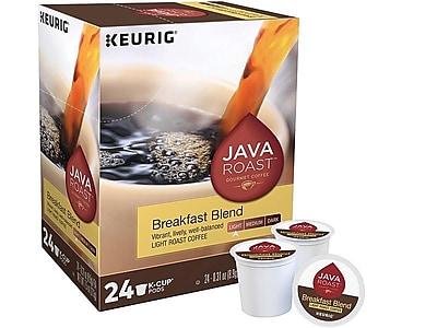 Java Roast Breakfast Blend Coffee, Keurig® K-Cup® Pods, Light Roast, 24/Box (52967)