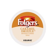 Folgers Caramel Coffee, Keurig® K-Cup® Pods, Medium Roast, 24/Box (6680)