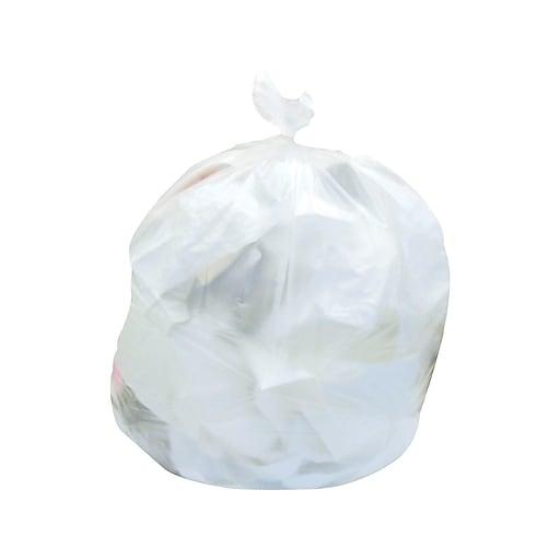 Brighton Professional 20-30 Gallon Trash Bags, 30x37, High Density, 12 Mic,  Natural, 25 Bags/Roll, 20 Rolls(Z6037MNER02)