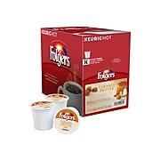 Folgers Caramel Drizzle Coffee, Keurig K-Cup Pods, Medium Roast, 24/Box (6680)