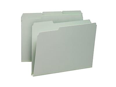 Smead Heavy Duty File Folder, 1/3-Cut Tab, 1