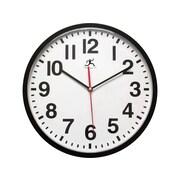 "Infinity Instruments Pure Wall Clock, 13""Dia. (15018BK-4017)"