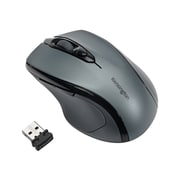 Kensington Pro Fit Mid-Size K72423WW Wireless Optical Mouse, Graphite Gray