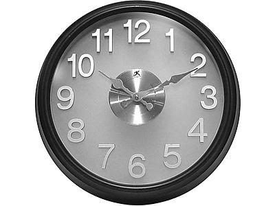 Infinity Instruments The Onyx Wall Clock, 15
