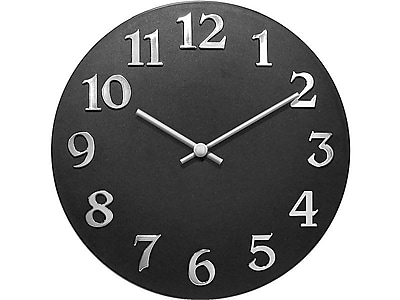 Infinity Instruments Vogue Wall Clock, 12