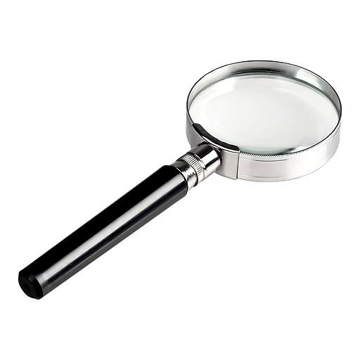 insten 10x handheld magnifier glass 50 mm staples
